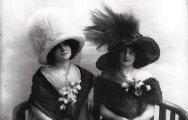 Ах, какая шляпка: 30 ретро фотографий загадочных дам в широкополых шляпах