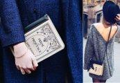Женская сумочка для книголюба: оригинальные клатчи от российского дизайнера