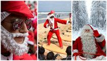 15 фотографий о том, как Санта Клаусы заполонили мир в декабре 2016