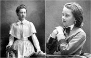 Лица минувшей эпохи: 22 ретро портрета русских гимназисток из 1900 года