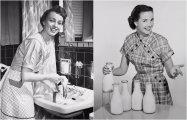 Очаровательные домохозяйки: 20 ретро фотографий из 1940-1950-х годов