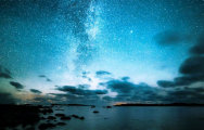 Финские ночи: звёздное небо и роскошные пейзажи