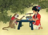Китайская живопись: волшебные картины на шёлке