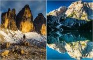 Горные пейзажи: 15 великолепных фотографий из Доломитовых Альп