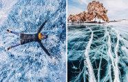 Замерзший гигант: величие Байкала на снимках российского фотографа