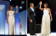 Платье первой леди: что надевали жены президентов США на инаугурации мужей
