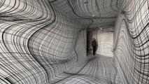 Головокружительные инсталляции художника-иллюзиониста Питера Коглера