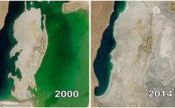 Шокирующие снимки со спутника NASA, на которых видны изменения Земли за последние годы