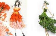 Модные цветочные коллажи, которые дарят хорошее настроение