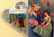 К празднику Всех Влюбленных: какими были поздравительные валентинки прошлых веков