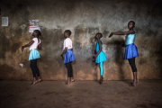 «Балет в трущобах» - серия фотографий о том, что самые лучшие партии танцуют душой