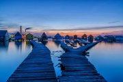 Плавающая деревня на живописном озере - самая необычная достопримечательность Венгрии