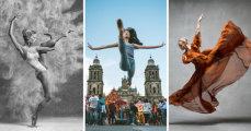 В ритме танца: динамичная серия работ, где танцоры замерли в замысловатом па