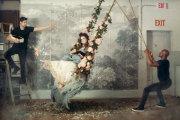 Фотоинтерпретация по мотивам картины «Качели»  Жана Оноре Франгонара