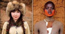 Вокруг света, или мир в лицах: потрясающая серия портретов людей  со всех уголков планеты