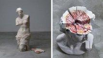 Анатомический ужас: «мясные» скульптуры, повергающие в шок