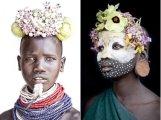 Первобытная красота и жестокие бои: как живет племя сури из Эфиопии
