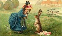 Пасхальные традиции: почему у католиков яйца несут кролики