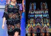 24 ярких примера, как архитектура вдохновила дизайнеров модной одежды