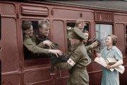 История в цвете: 20 колоризированных ретро фотографий, сделанных в начале XX века