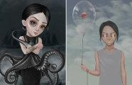 На грани поп-сюрреализма и лоуброу арта: волшебные иллюстраций Айи Битик из Казахстана
