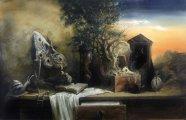 Многогранные работы крымского художника Юрия Лаптева