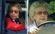 Без прав и не соблюдая ПДД: королева Великобритании Елизавета II и в 91 год все еще водит автомобиль