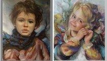 Дети глазами аргентинского художника  Франсиско Массерии: экспрессивно-реалистические портреты