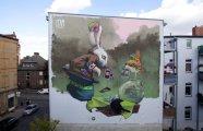 Оживающий сюр: граффити на улицах польских городов