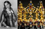 Почему корона принцессы Бланш единственная уцелела среди всех корон средневековой Англии