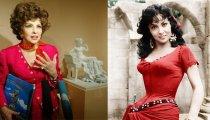 Великолепная Джина Лоллобриджида - знаменитая киноактриса, талантливый кинорежиссер, скульптор, фоторепортер