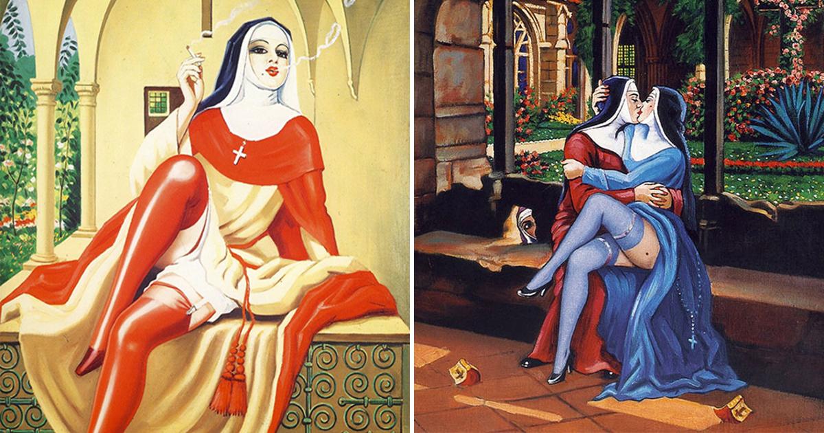 Только для взрослых, или провокационные работы Кловиса Труйя: секс, религия и смерть - весёлый карнавал мрачной жизни