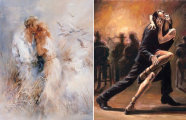 От невесомой романтической  иллюзии  до сжигающей страсти: непревзойденные воздушные акварели Виллема Хайенраетсa