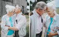 Красота любви: трогательная фотосессия пожилой пары, прожившей 68 лет вместе