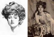 Девушка Гибсона - собирательный образ с обложки, ставший идеалом красоты для женщин на рубеже XIX-XX вв.