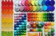 Порядок и цвет: яркие работы художника-перфекциониста  Адама Хиллмана