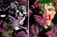 Персонажи из комиксов и фильмов, созданные из воздушных шаров