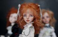 Очаровательные куклы украинской мастерицы Елены Опланской