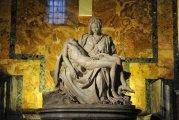 «Пьета» Микеланджело Буонарроти: увлекательная история мраморной скульптуры с автографом гения