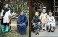20 редких раскрашенных ретро фотографий, рассказывающих о повседневной жизни китайцев в начале XX века