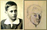 Неоконченный автопортрет Коли Дмитриева: трагическая судьба 15-летнего художника, акварелями которого восхищаются и через 70 лет