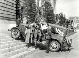 Люди и техника: серия уникальных ретро фотографиях, сделанных в США в первой половине XX века