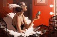 Таинственный мир фэнтези: рисунки, переносящие в запредельные миры