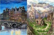 Городские пейзажи со всего мира: 14 зарисовок из альбома художника-путешественника