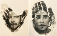 13 удивительных портретов-отпечатков, созданных калифорнийским художником Расселом Пауэллом