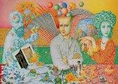 Пантеон Игоря Тюльпанова: Художник создаёт живописные образы знаменитых людей цветными карандашами