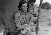 «Мать-переселенка»: Как одна случайно сделанная фотография стала символом эпохи