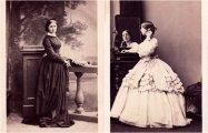 Редкие ретро-портреты знаменитых лондонских дам от известнейшего фотографа XIX века Камиля Сильви