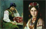 «Карими очами и черными бровями»: украинские красавицы на колоритных портретах известных живописцев разных времён