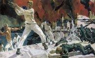 Почему эпическая картина «Оборона Севастополя» А. Дейнеки вызвала бурные споры, и зачем для нее позировала женщина